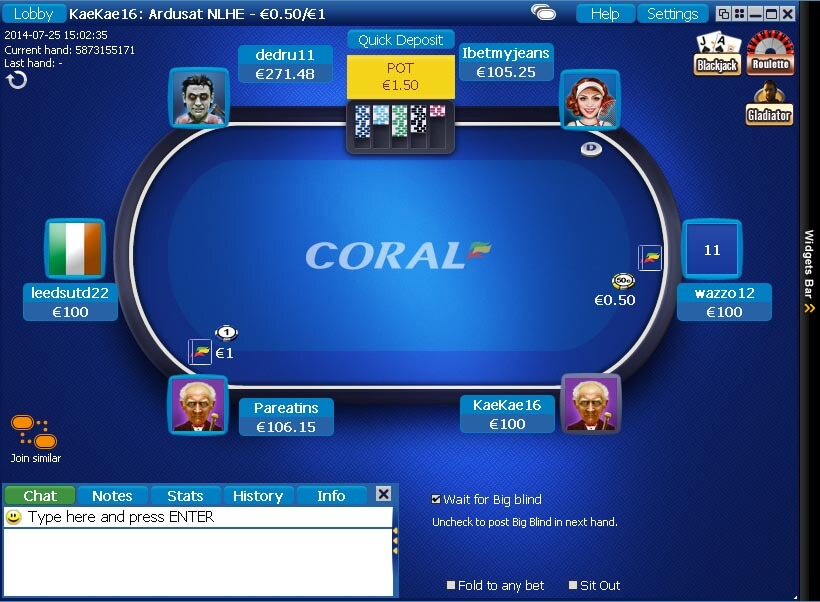coral poker