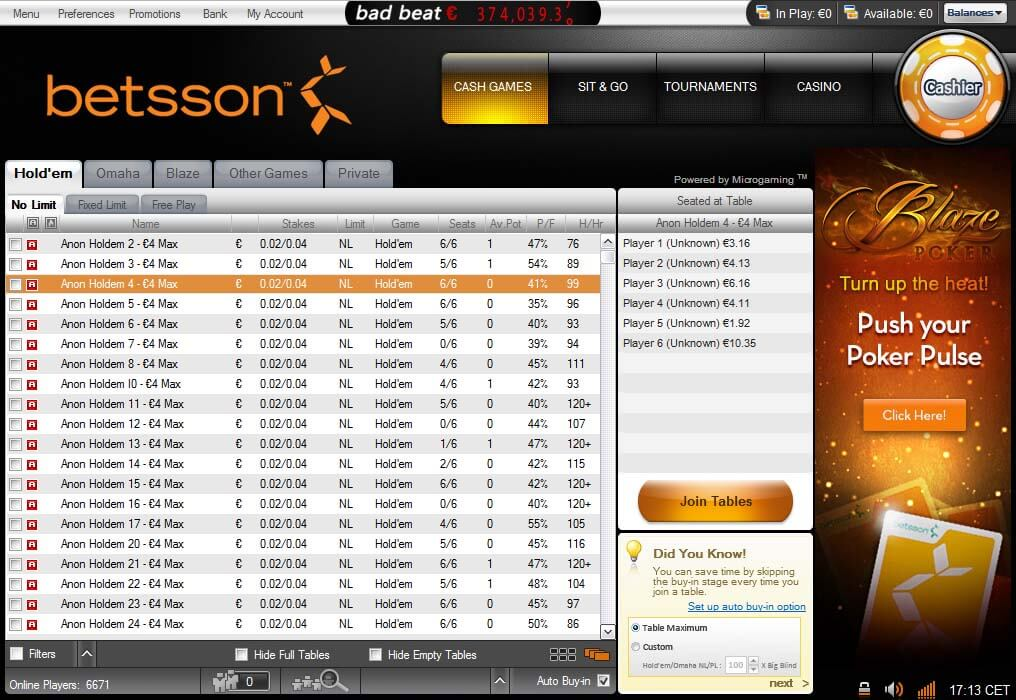 betsson chat