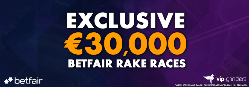 Exclusive €30,000 Betfair Races April