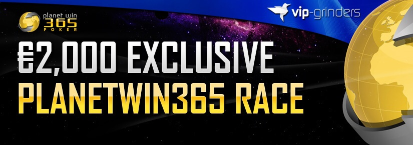 €2,000 Exclusive Planetwin365 Race April