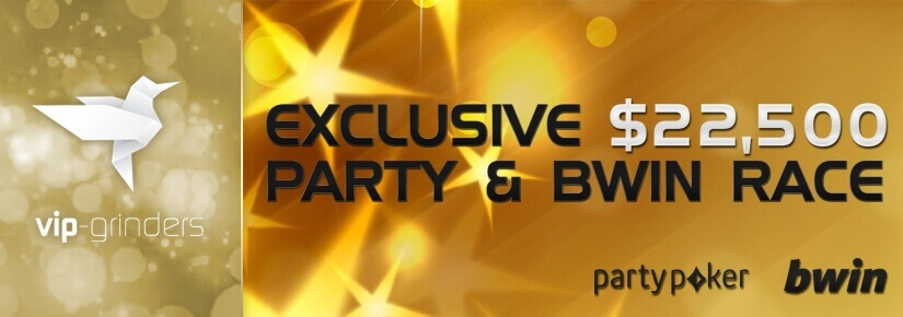 $22,500 Party and Bwin Race January