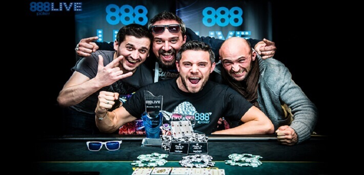 The best 888 live tournaments