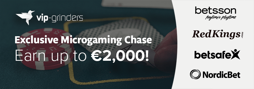 Exclusive Microgaming Chase September