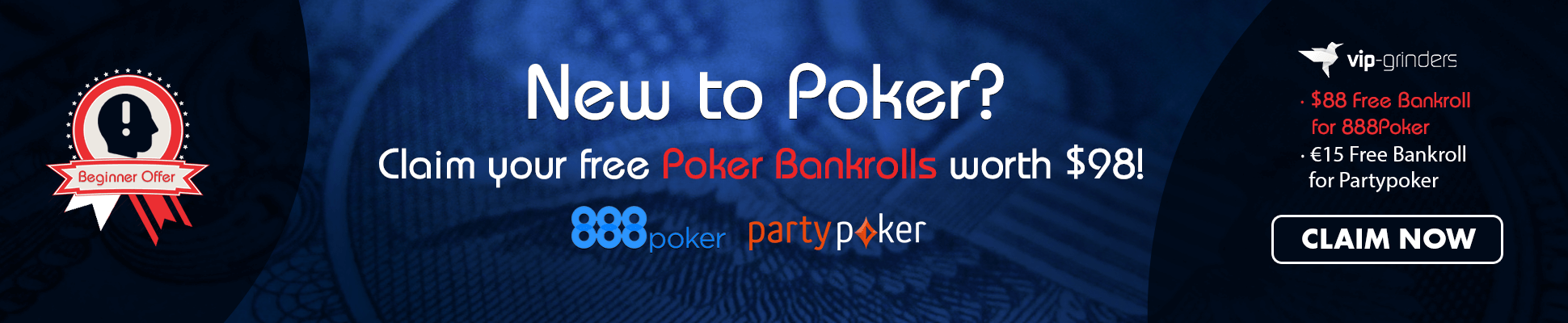 Free Poker Bankrolls March