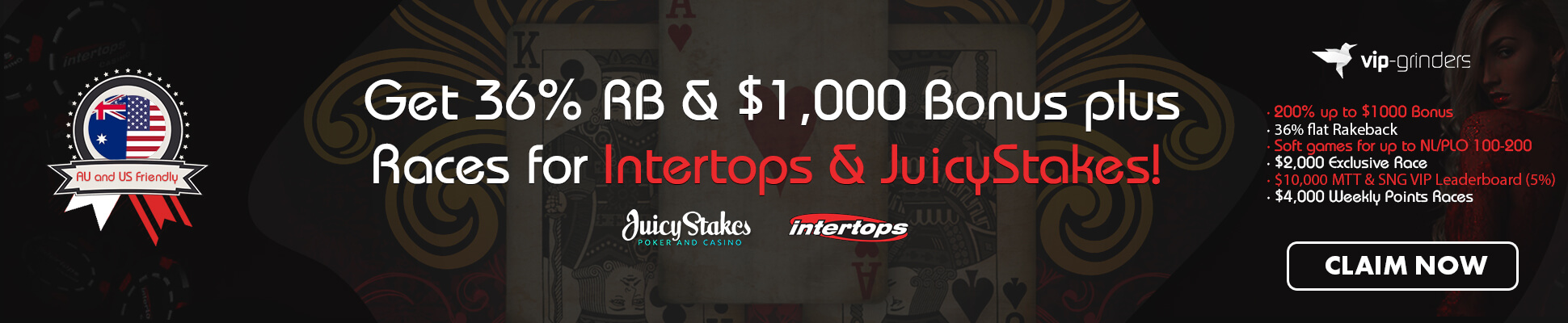 intertips and juicystakes slider december