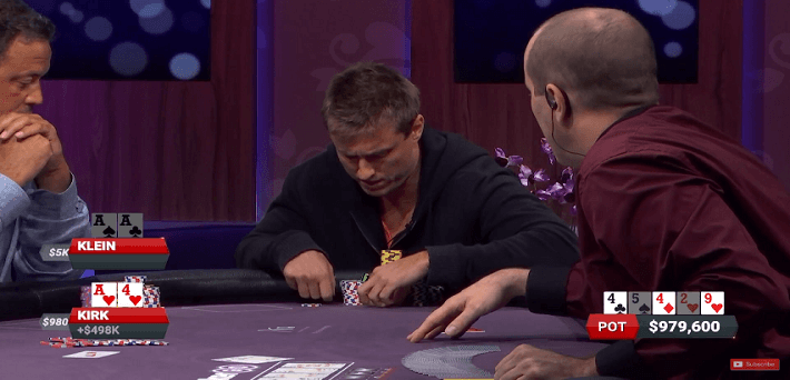 The biggest pots of the first Poker After Dark episode