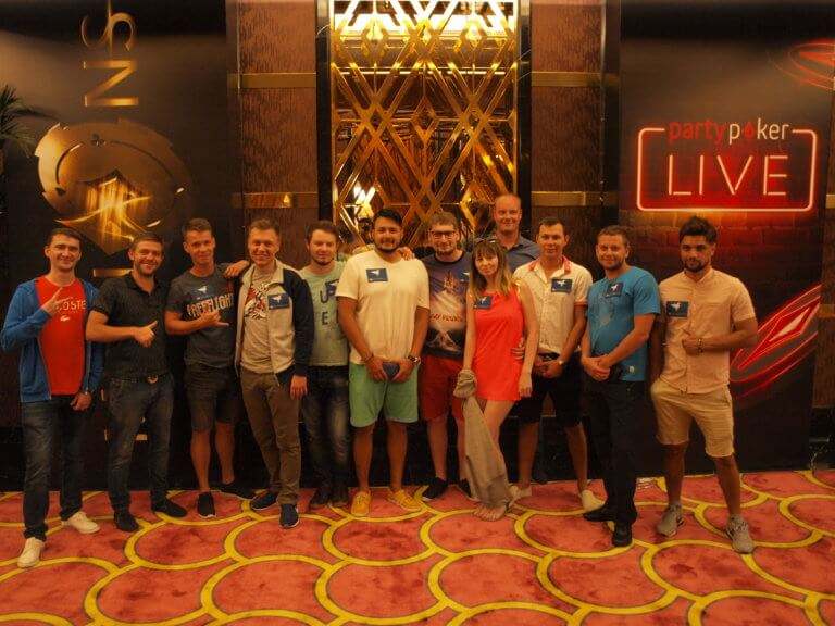 Partypoker Millions Russia VIP-Grinders Live Sponsorship