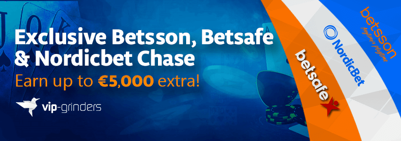 Exclusive Betsson, Betsafe & Nordicbet Chase March