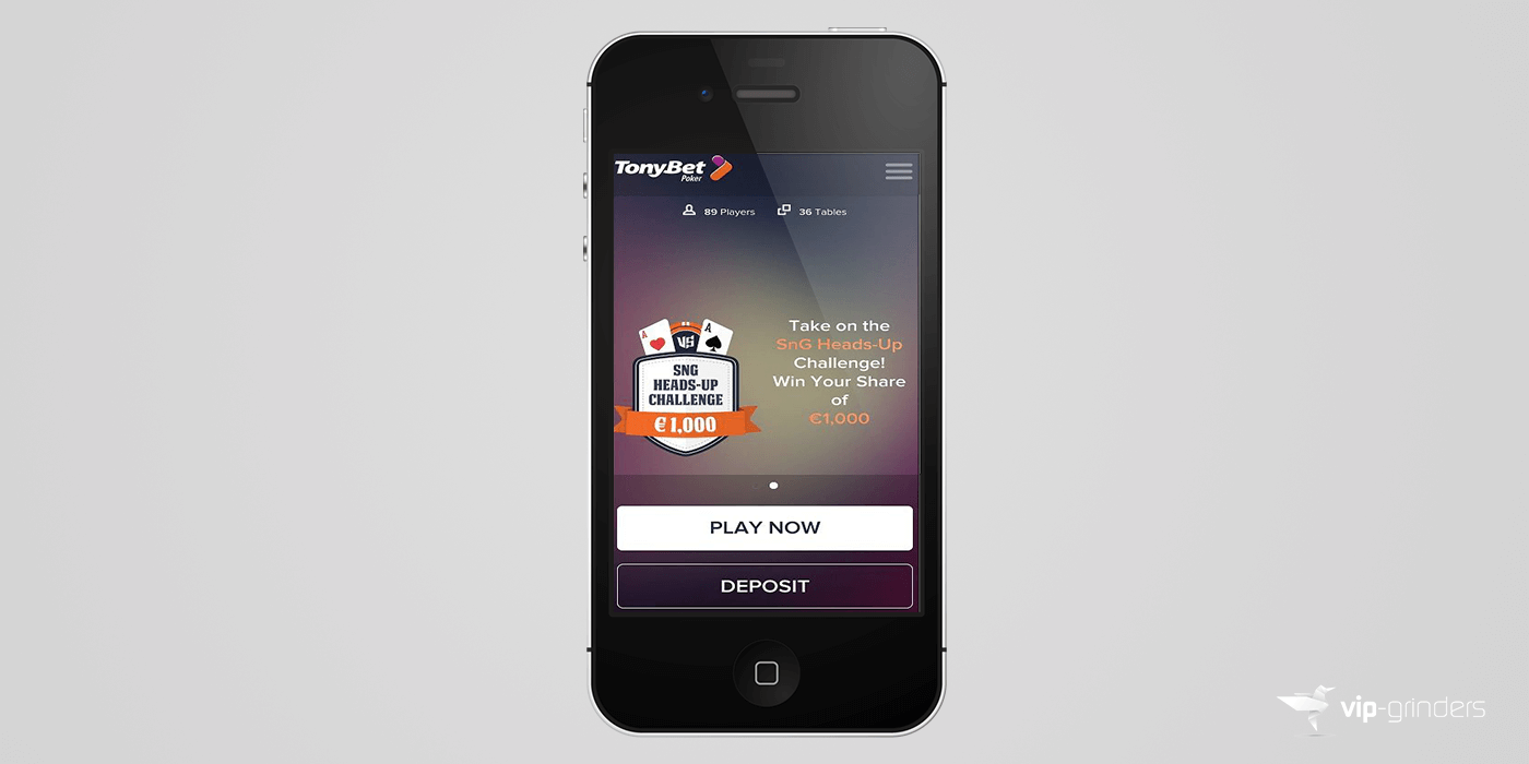 tonybet poker ios