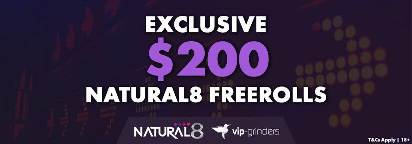 Freerolls de Poker Natural8