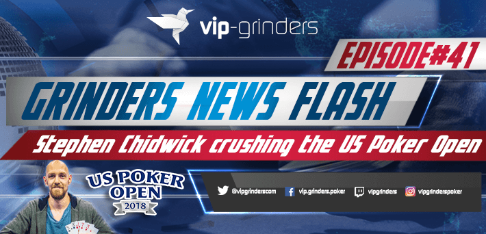 Grinders News Episode 41 Flash Stephen Chidwick