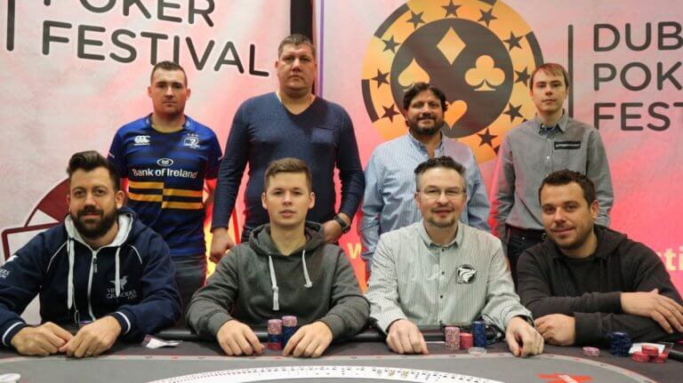 Dublin Poker Festival 2018 Final Table