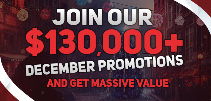 Over €130,000 up for grabs in Exclusive VIP-Grinders Promotions in December!