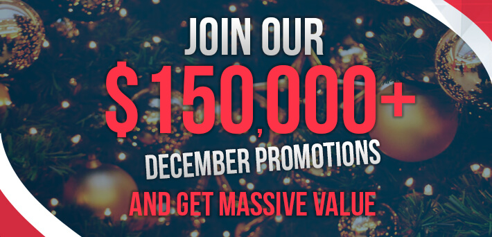 More than $150,000 in VIP-Grinders Promotions December 2020!