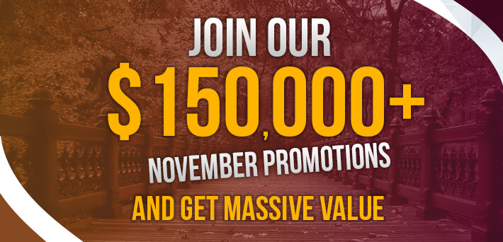 More than $150,000 in VIP-Grinders Promotions November!