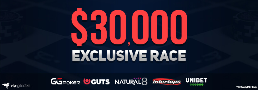 $30,000 Exclusive Race January