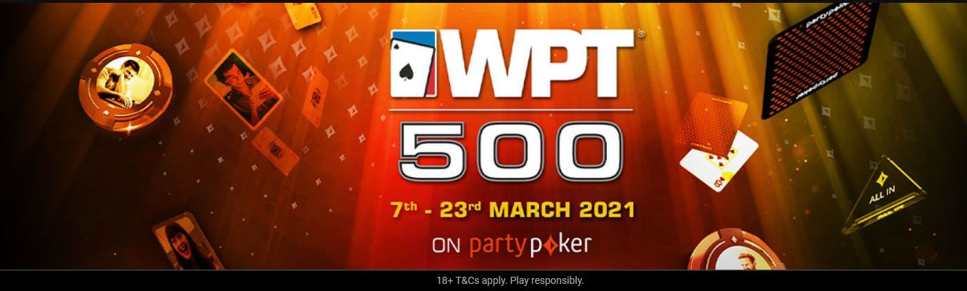 The WPT500 at partypoker offers millions of dollars in prizes