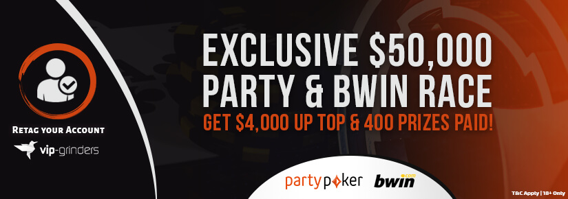 Exclusive $50,000 Party & Bwin Race