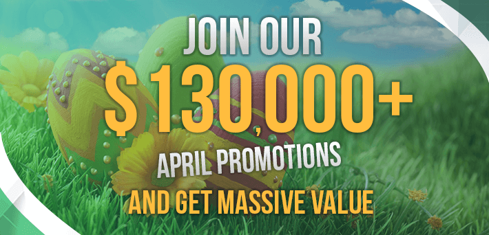 More than $130,000 in VIP-Grinders Promotions April!