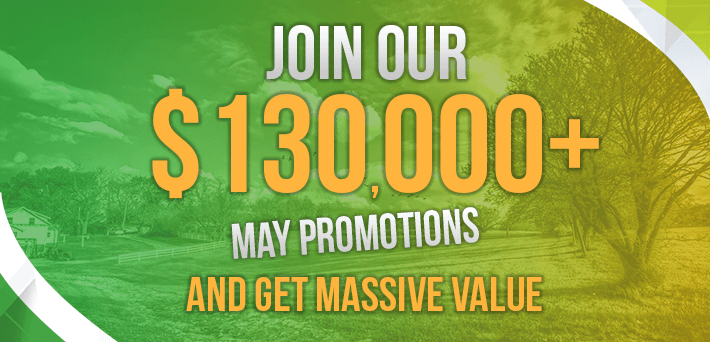 More than $130,000 in VIP-Grinders Promotions May!