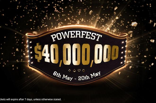 Competition of the Week win Tickets for the $40 Million GTD Partypoker Powerfest