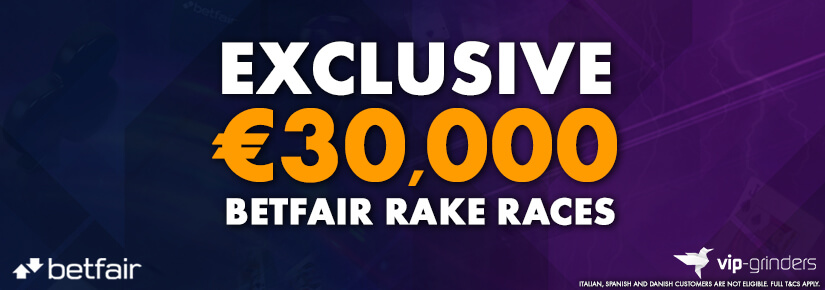 Exclusive €30,000 Betfair Races September