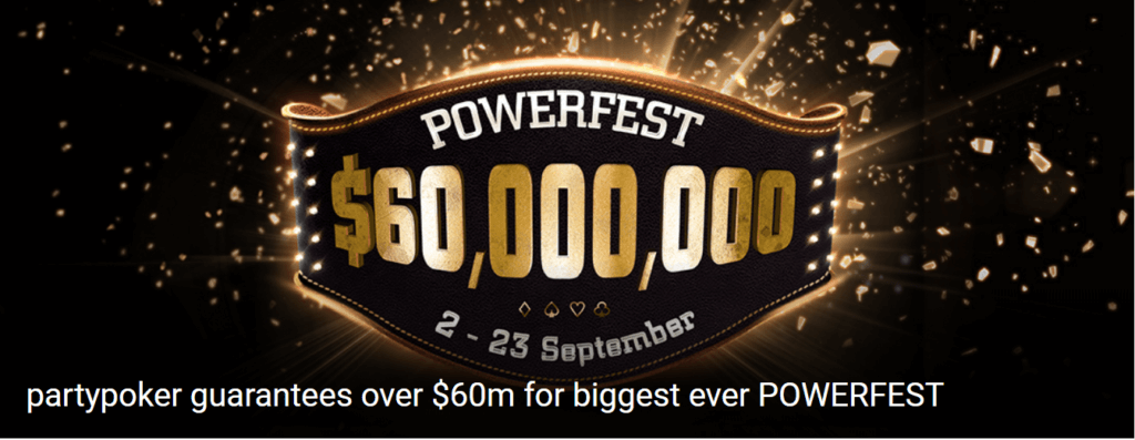 Partypoker-guarantees-60-Million-Dollar-at-biggest-Powerfest-ever