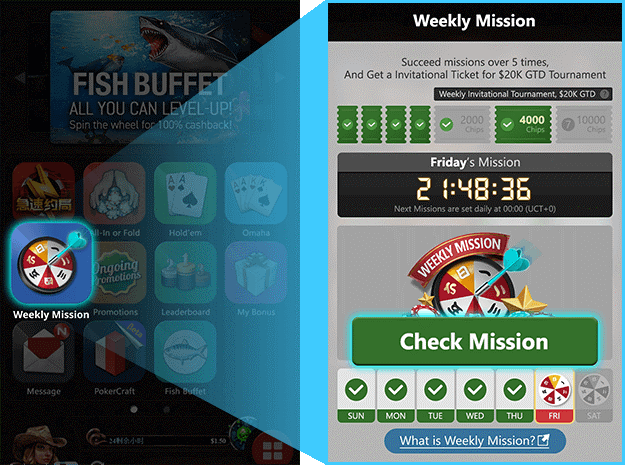 $20,000 up for grabs in Weekly Missions at Breakout and Bestpoker
