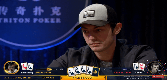 Watch the first four episodes and the biggest pots of the 1 Million Dollar Buy-In Cash Game Jeju here ft Tom Dwan and Patrik Antonius