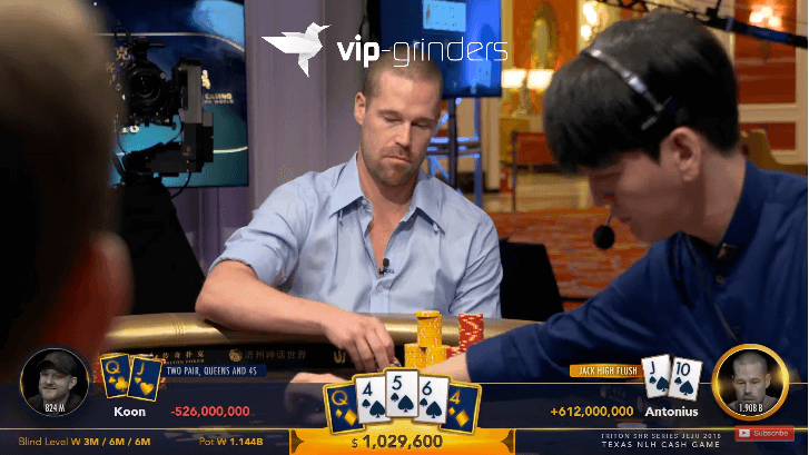 Maiores Panelas do Triton Poker Million Dollar Cash Game Jeju Episode 5 & 6 com Tom Dwan e Patrik Antonius