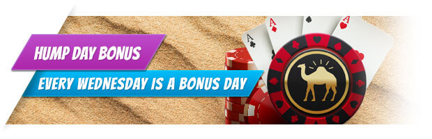 Hump Day Bonus at William Hill