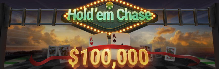 Join the incredible $100,000 Hold'em Chase at Breakout and Bestpoker