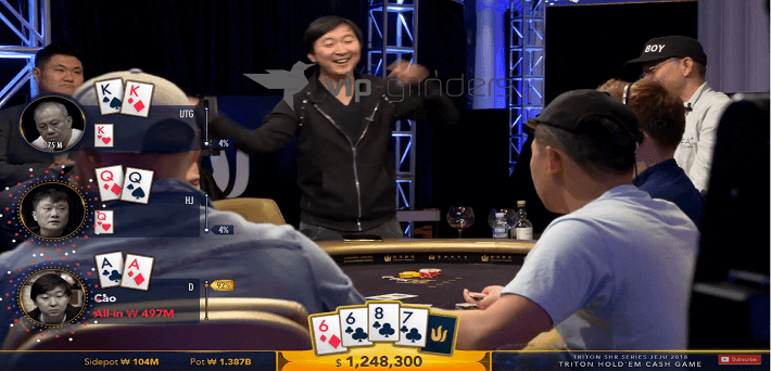Watch all Short Deck Episodes of the Triton Million Dollar Cash Game Jeju here