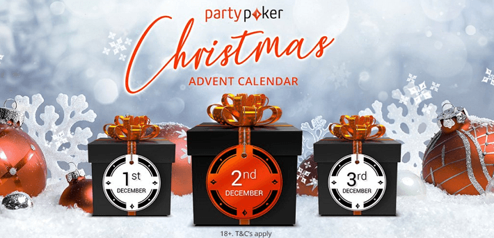 Partypoker Christmas Advent Calendar