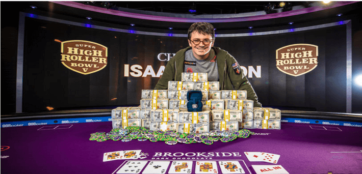 Isaac Haxton wins Super High Roller Bowl V for $3,672,000