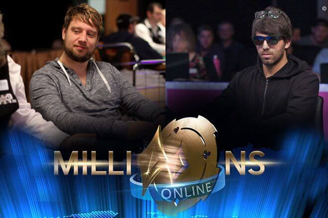 im de Goede and Manuel Ruivo chop Partypoker Millions Online for $2.3 Million