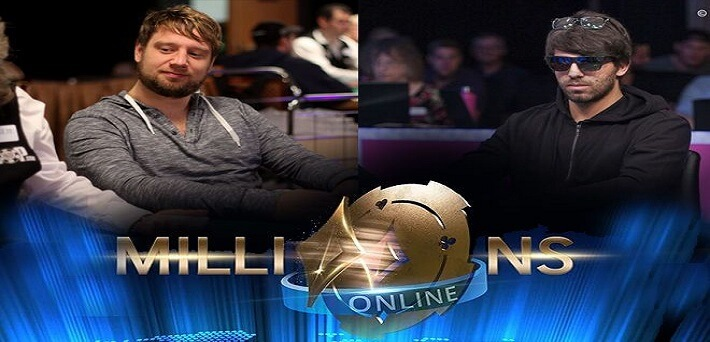 Pim de Goede and Manuel Ruivo chop Partypoker Millions Online for $2.3 Million