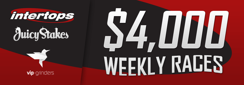 $4,000 Intertops & Juicystakes Weekly Races