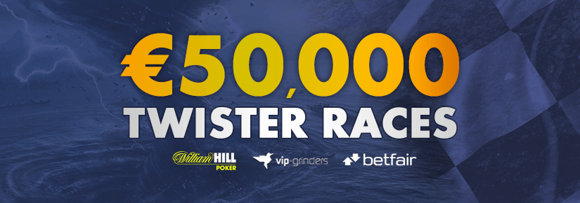 More than €130,000 in Exclusive VIP-Grinders Promotions in May! Twister Races Betfair