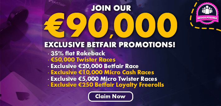 Betfair Poker Network and Poker Promotions Overview