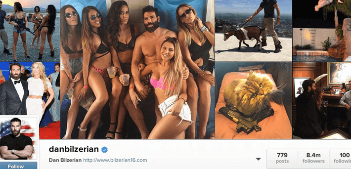 Best Dan Bilzerian Instagram pictures