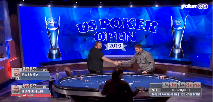 Watch the best videos from the $100,000 US Poker Open Main Event
