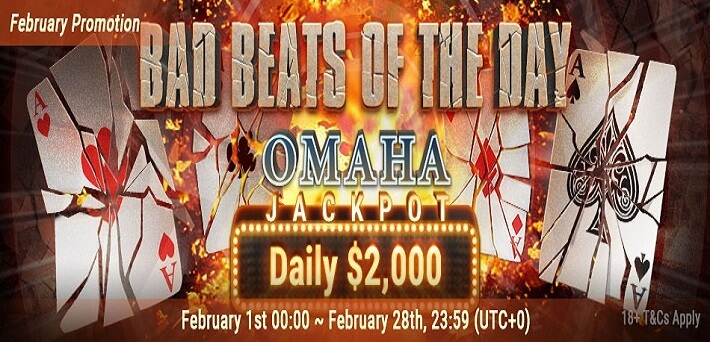 Bad Beats of the Day Jackpot Bestpoker