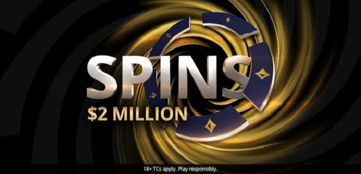 Become a MILLIONAIRE in minutes with the new partypoker Spins!