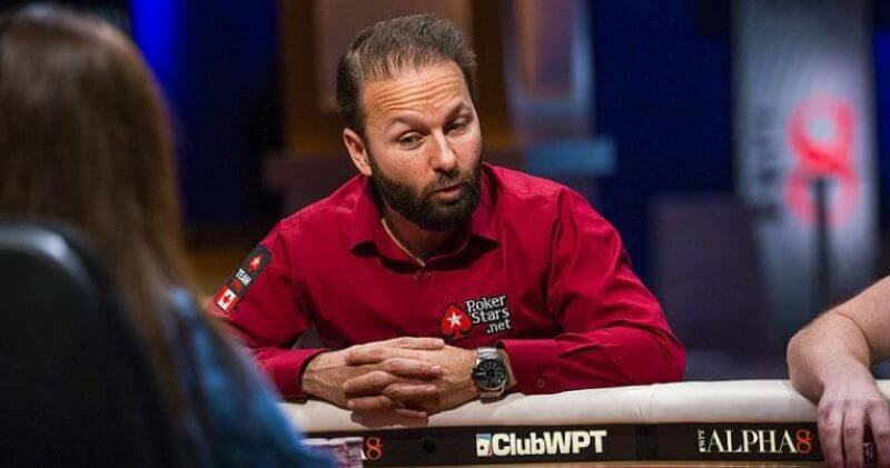 Daniel Negreanu Triton Super High Roller Series