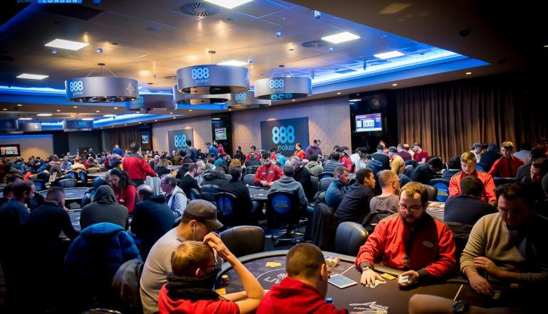 888poker Live London Kickoff