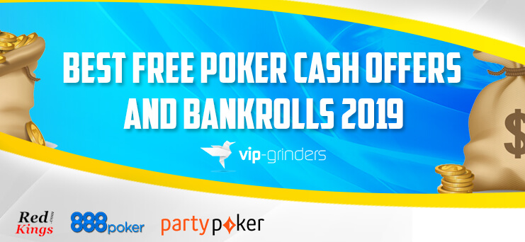 Best No Deposit Poker Bonuses and Free Poker Bankrolls 2019