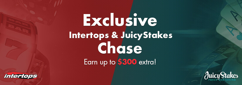 Intertops exclusivos e JuicyStakes Chase