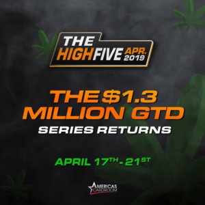 Americas Cardroom brings back the popular High Five Tournament S