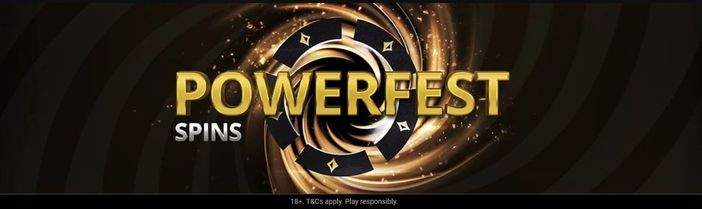 Share this post and tag 3 friends on our Socials to win Tickets for the $50 partypoker Powerfest Spins
